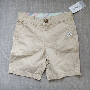 Carter's khaki shorts